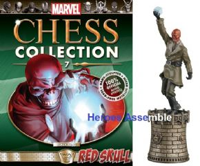 Marvel Chess Collection #07 Red Skull Eaglemoss Publications